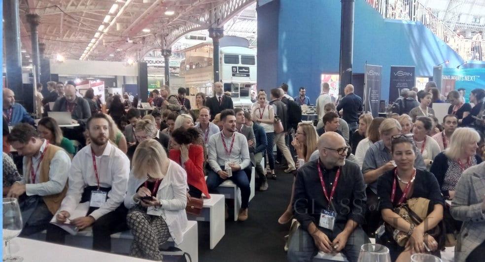 London Wine Fair 'Innovation Zone' invites Glass of Bubbly