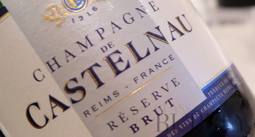 castelnau champagne label vinatge