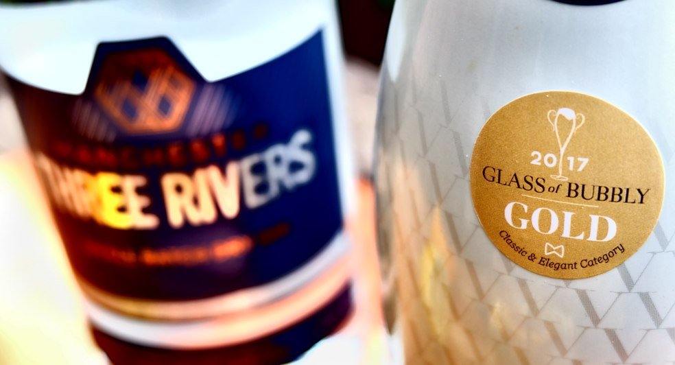 three rivers gin and vollereaux champagne