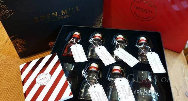 Eden Mill's 12 Gins of Christmas