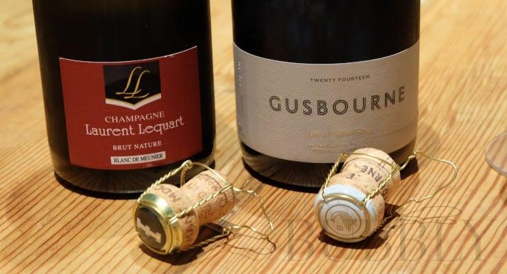 Champagne Laurent Lequart & Gusbourne