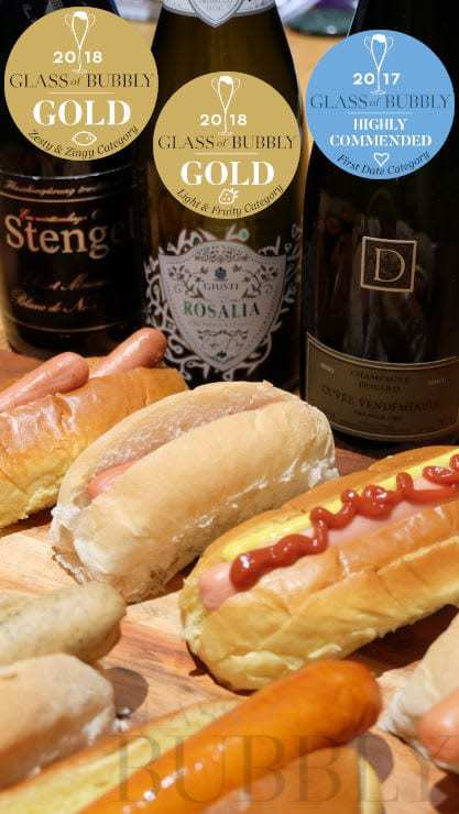 Sparkling Wines & Hot Dogs
