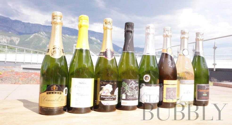 Cremant de France bottles