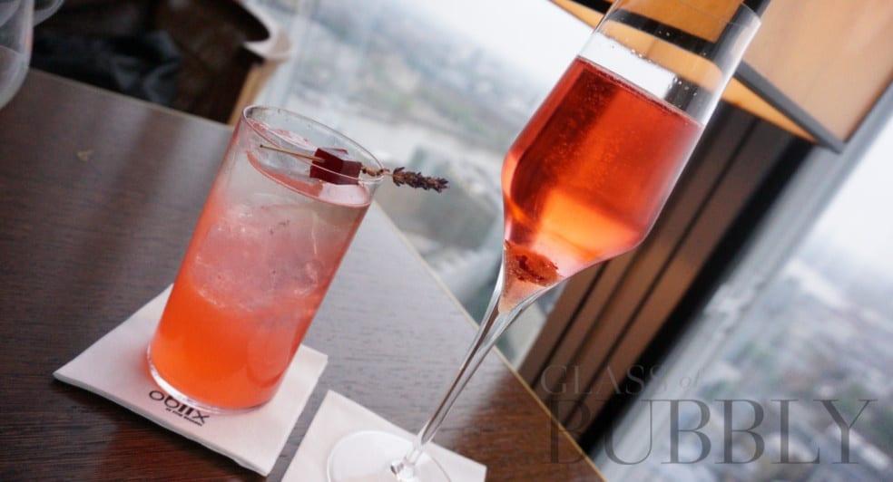 cocktails at Oblix Shard