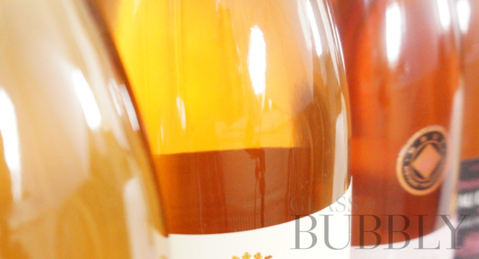 lighter shade sparkling rose wines