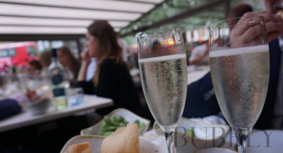 Champagne and sparkling wine at ULI Notting Hill