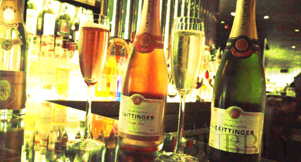 Champagne at STK London