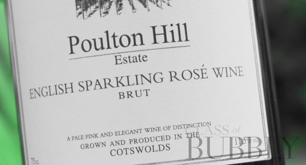 Poulton Hill English Sparkling Rosé Wine