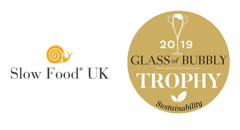 Slow Food in the UK and Glass of Bubbly