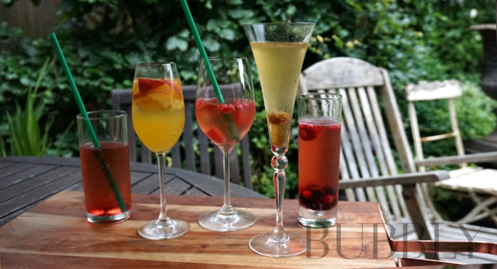 five fizz cocktails for the summer