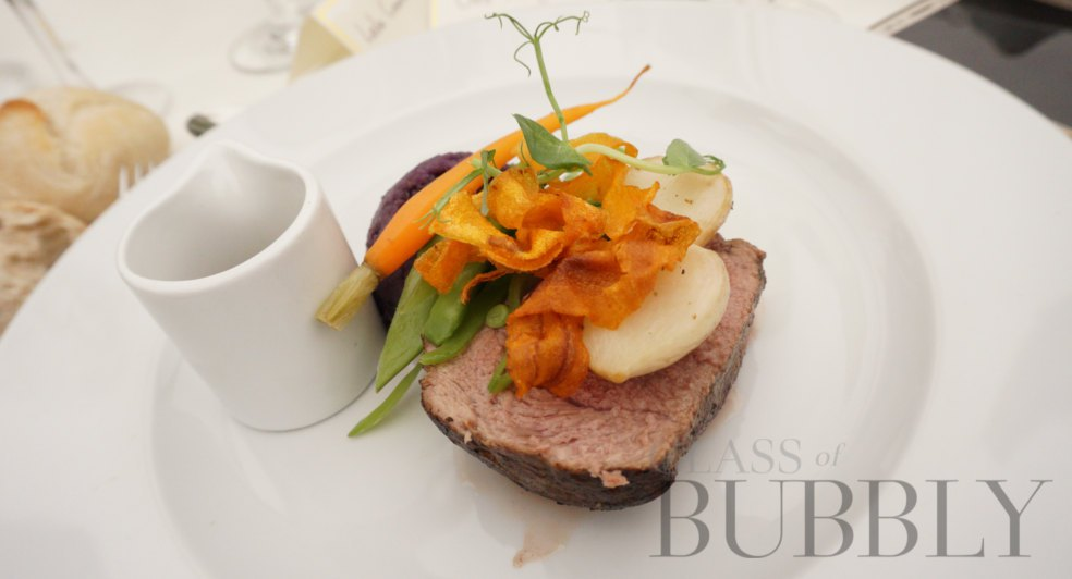 food at The Jockey Club The Derby 2019