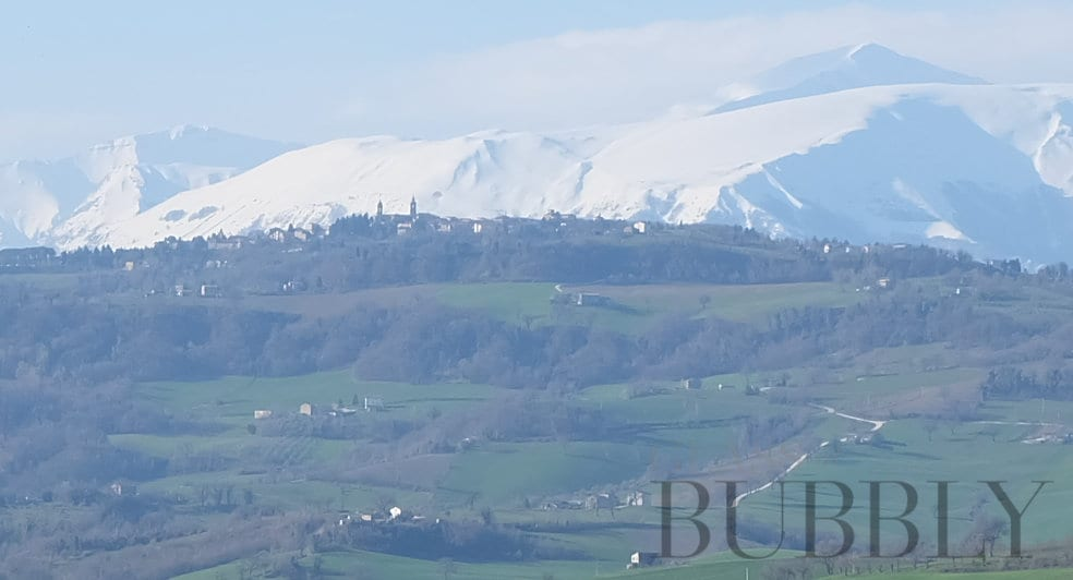 Mountains of Le Marche italy