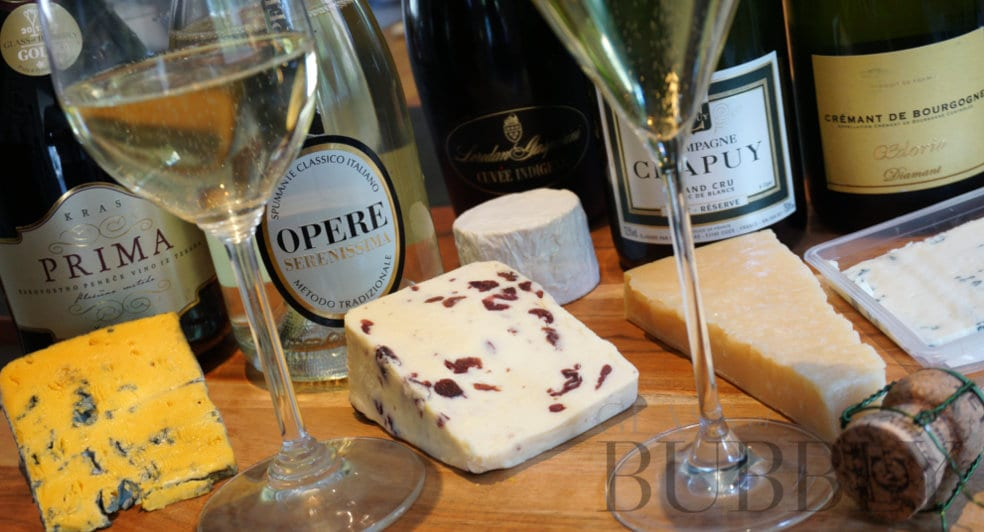 5 Cheese with 5 Sparkling Wines