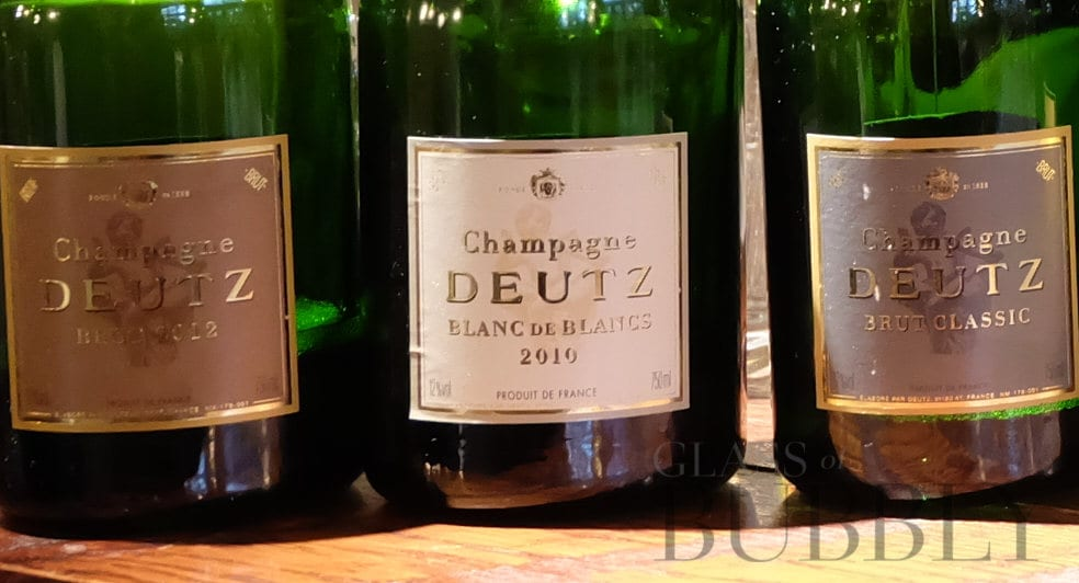 Champagne label reading