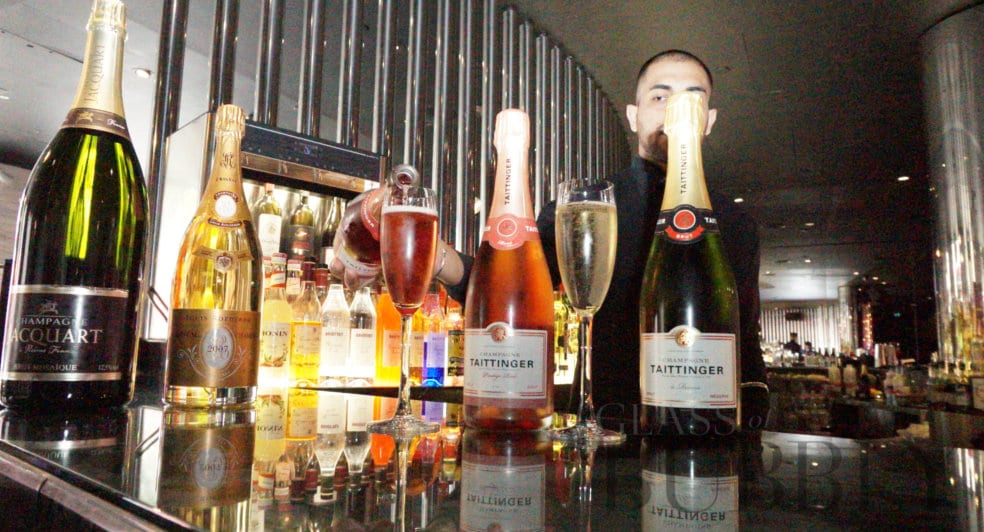 Champagnes at STK london