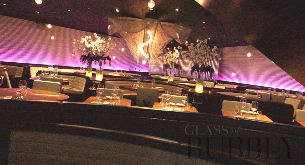 STK London inside seating