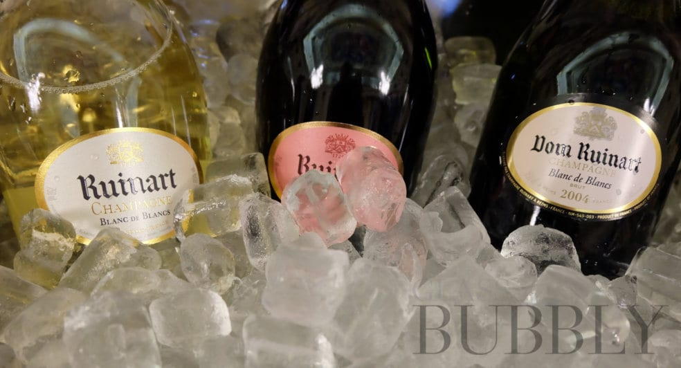 What temperature should you serve Champagne