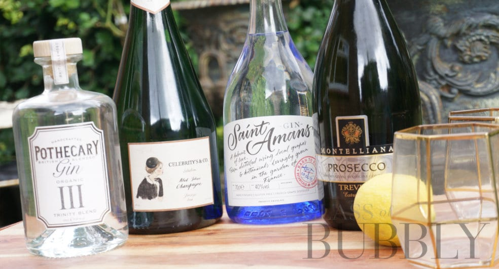 Gin and Champagne & Prosecco