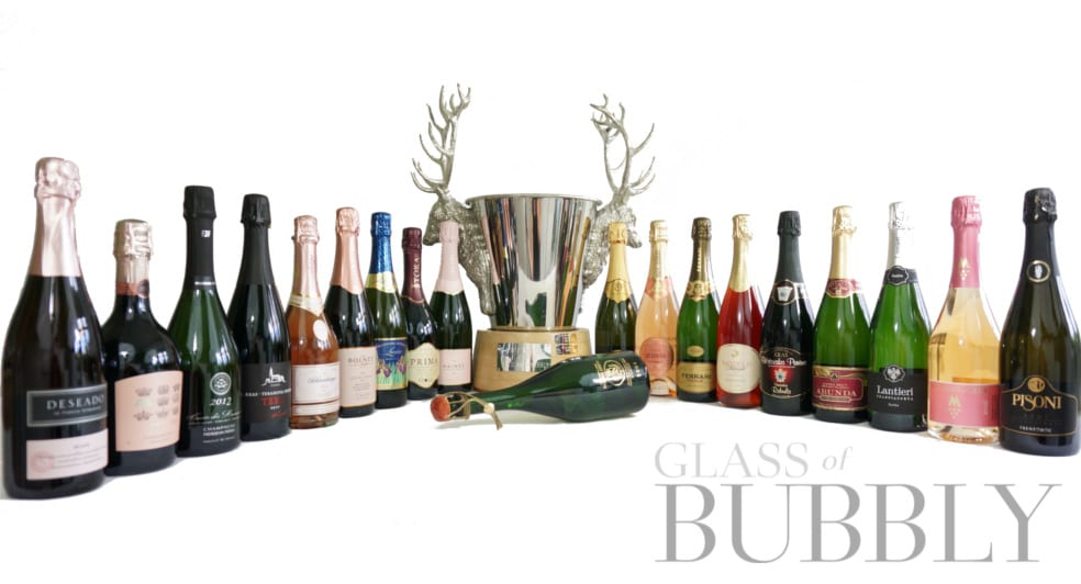 2019 The Worlds Finest Glass of Bubbly Trophy Winners