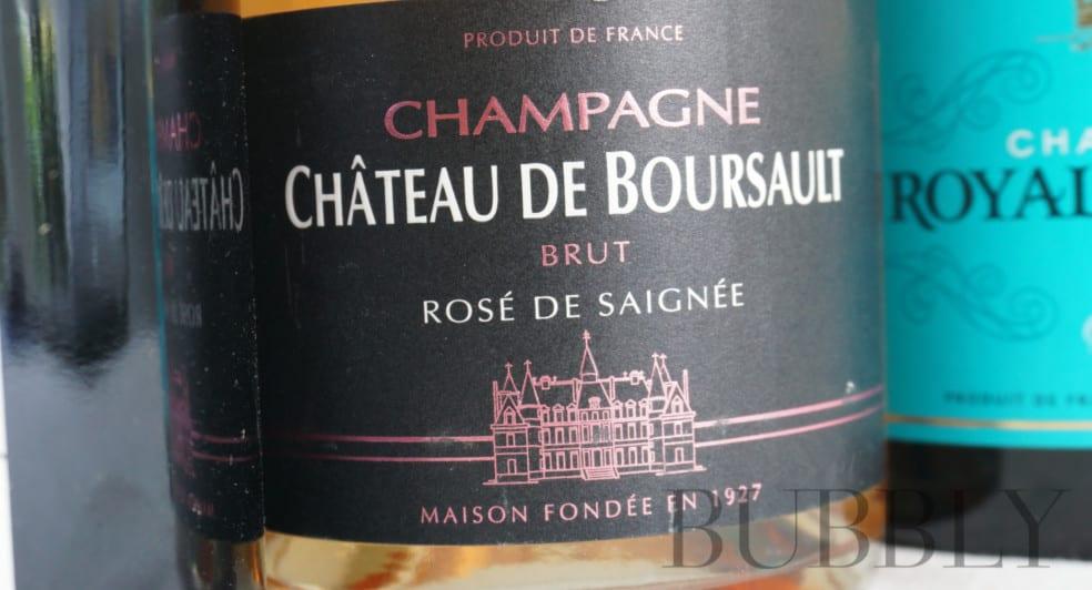 Champagne Château de Boursault Rosé de Saignée
