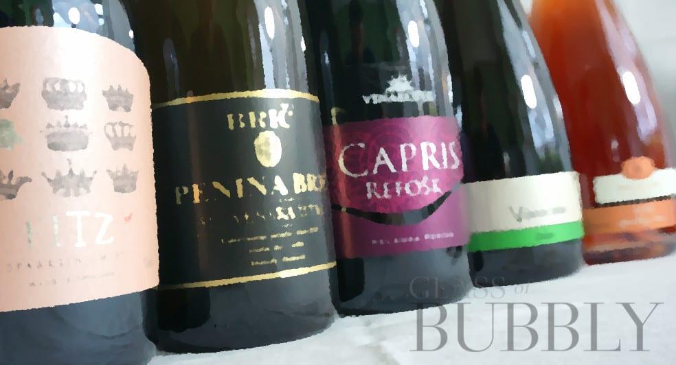 Charmat method sparkling wines