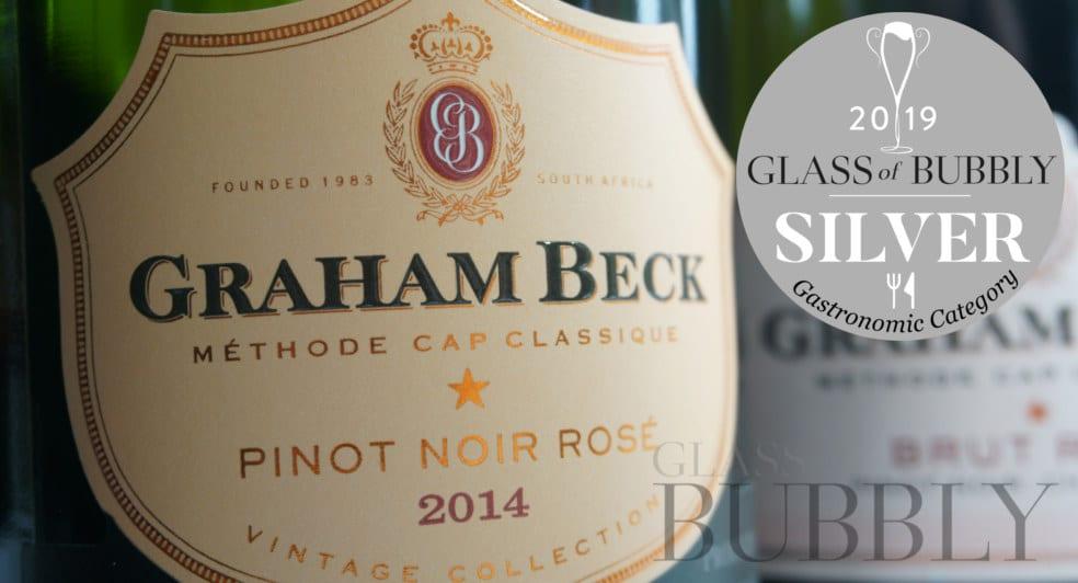 Graham Beck Pinot Noir Rose 2014