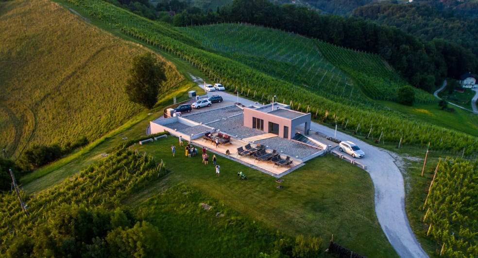 House of wine Doppler location Slovenia