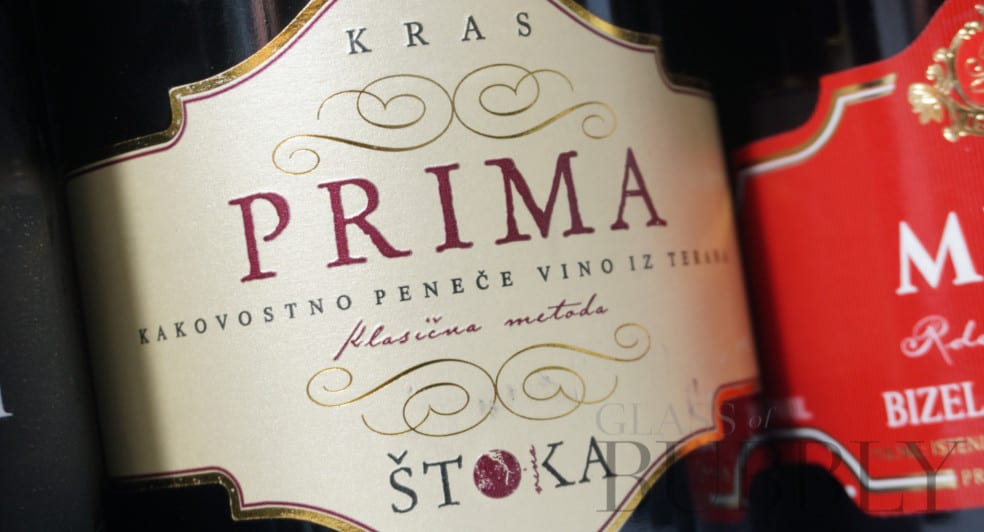 Prima Stoka red sparkling wine