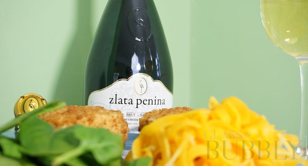 A Taste Of The Sea With A Sea Breeze Sparkling Wine Food