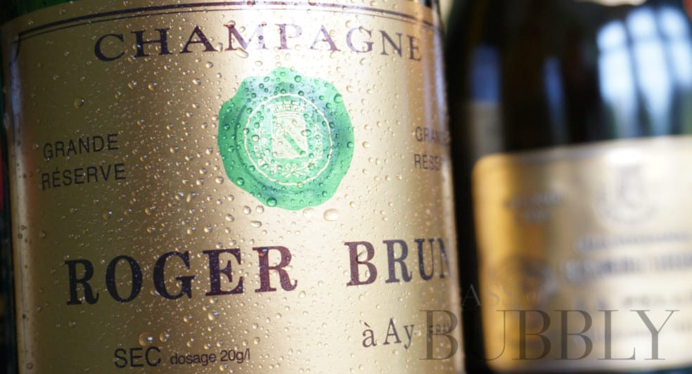 Champagne Roger Brun Sec