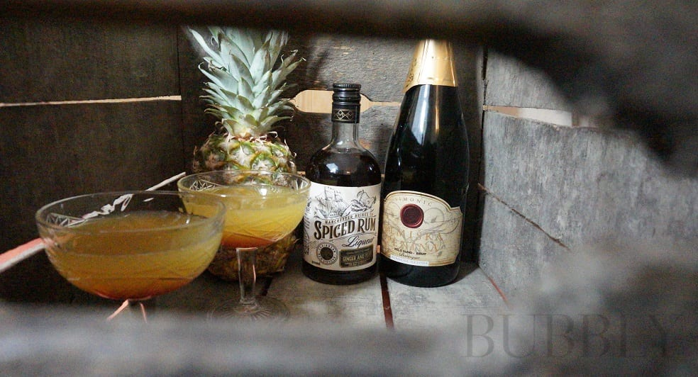 Sparkling Pirate Cocktail