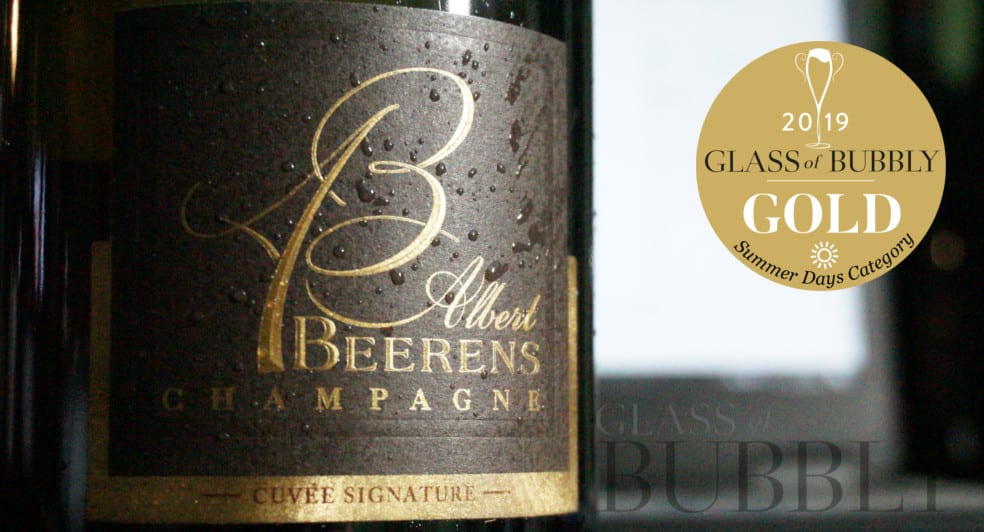 Gold Medal Summer Days Champagne Albert Beerens Cuvee Signature