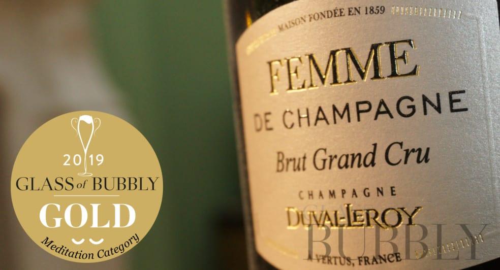 Gold Medal Winner 'Meditation' - Champagne Duval-Leroy