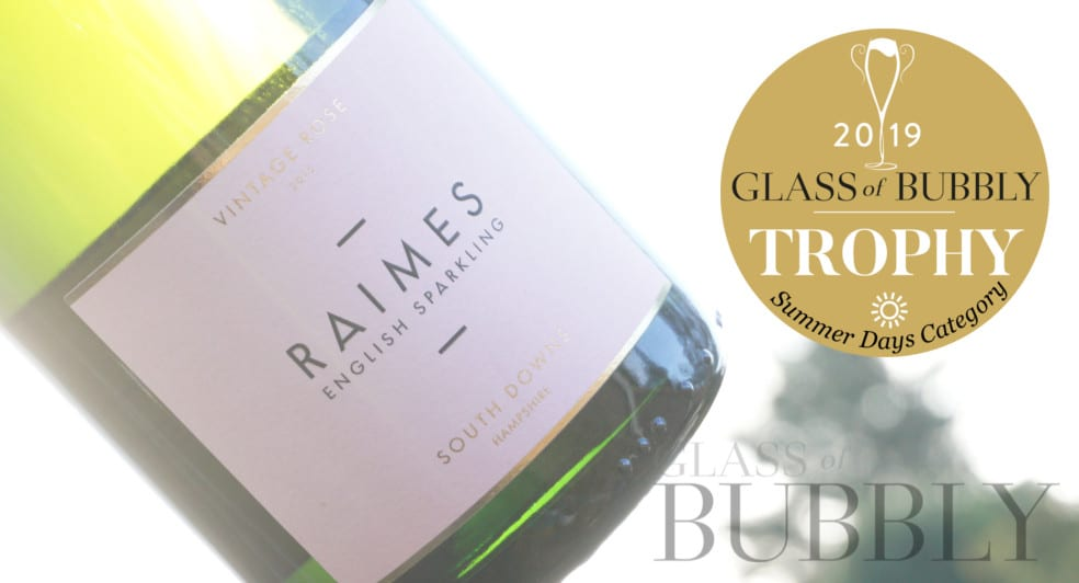 Raimes English Sparkling Wine Rosé Vintage