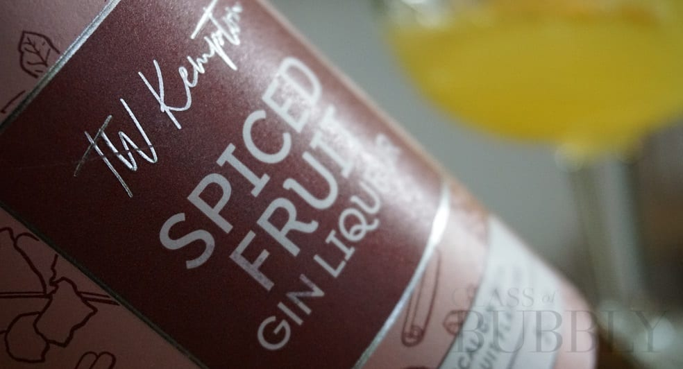 Spiced Fruit Gin Liqueur