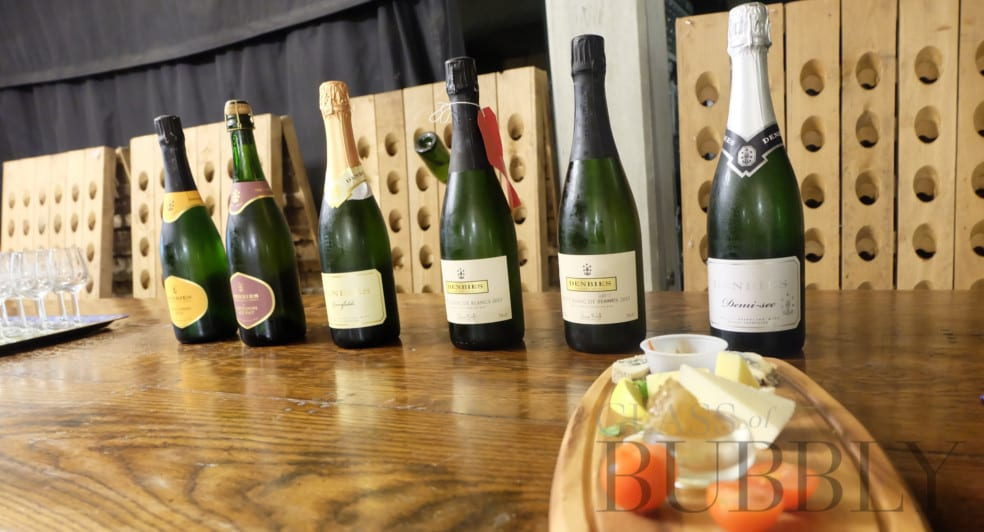 Wine and Cheese pairings at Denbies