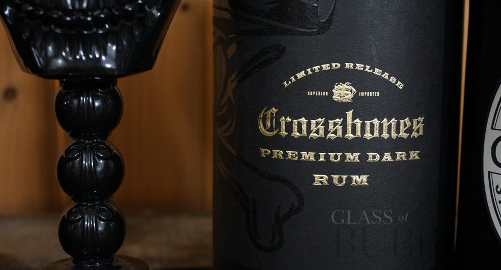 Crossbones Premium Dark Rum From Aldi