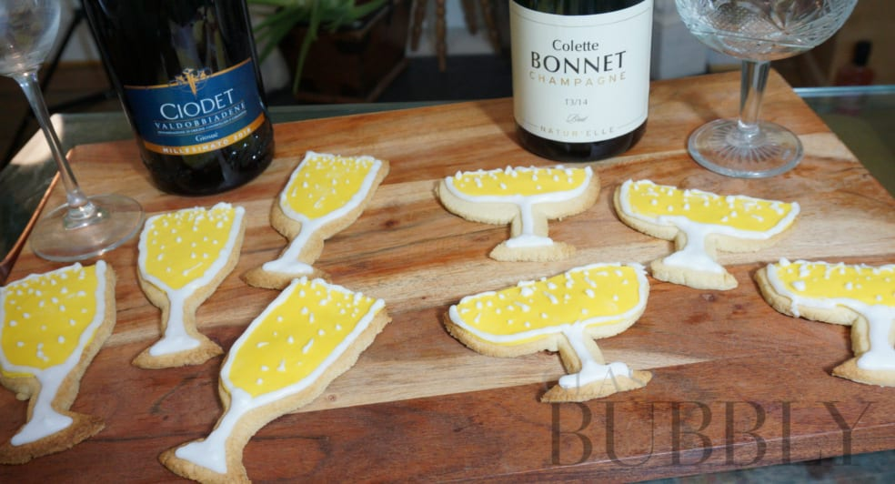 Champagne and Prosecco Biscuits