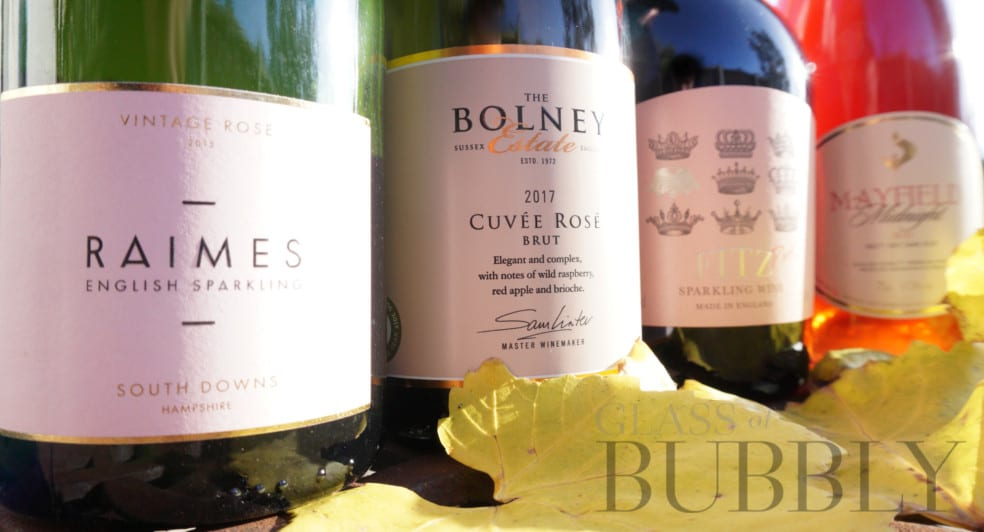 Four Trophy Winning English Sparkling Wines