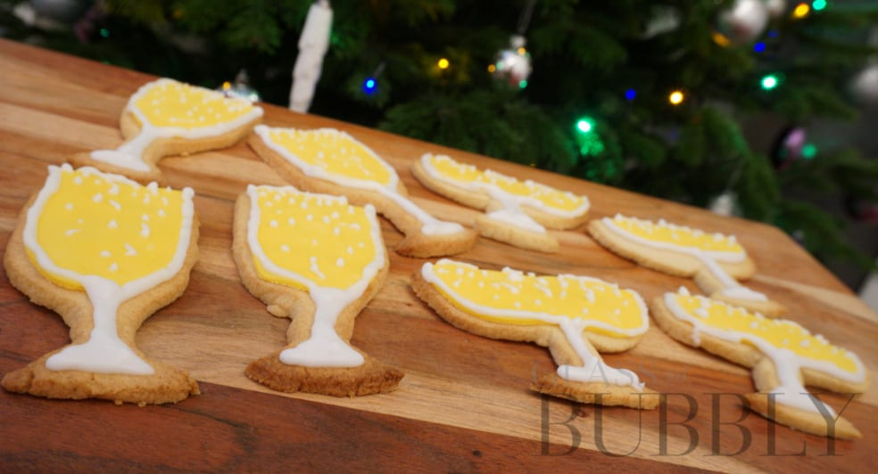 How to make Champagne & Prosecco Biscuits