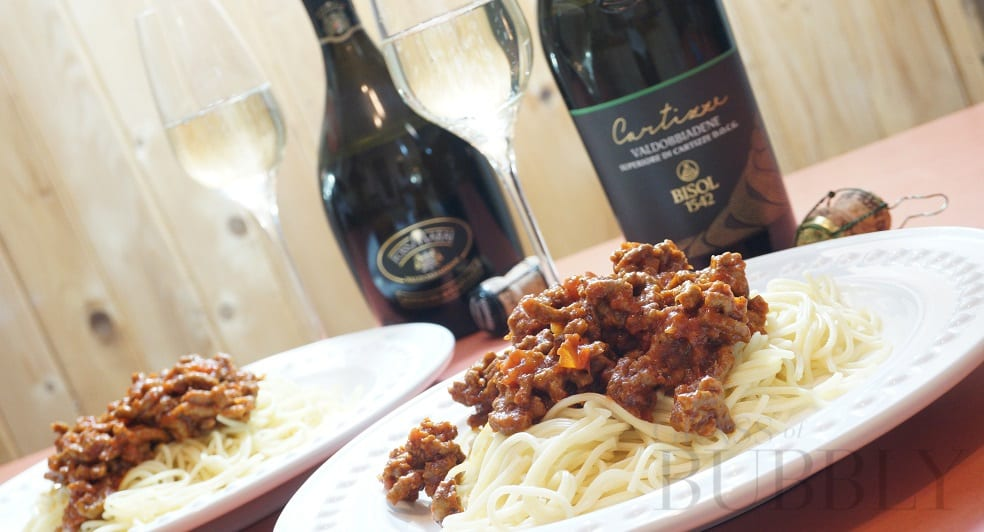 Italy's Finest – Spaghetti Bolognese & Cartizze