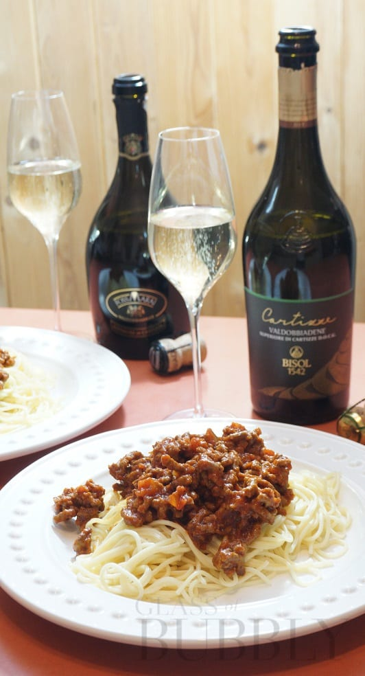 Spaghetti Bolognese Pairing