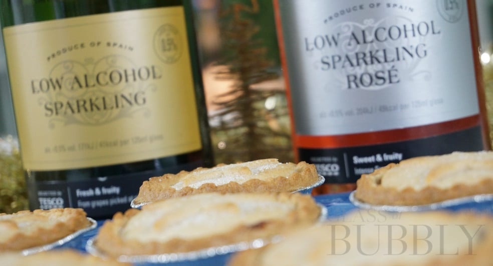 Low Alcohol Sparkling Wines & Mince Pies