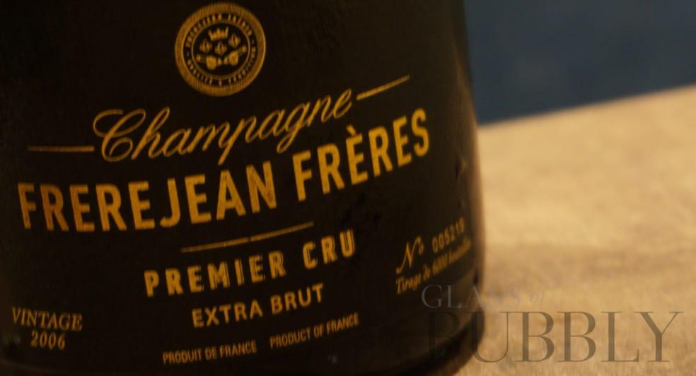Champagne FrereJean Freres Premier Cru Extra Brut Vintage 2006