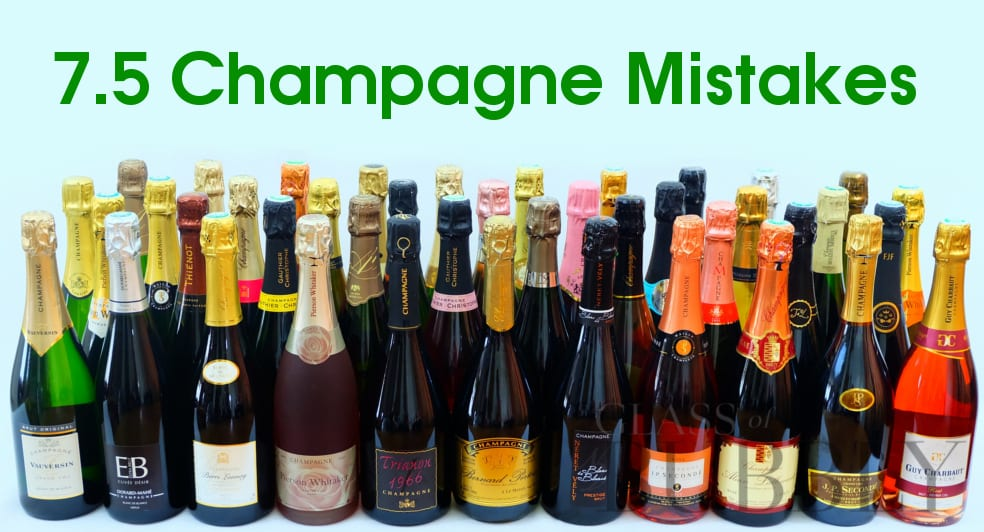 Champagne mistakes