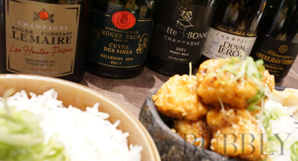 Chinese cuisine and Champagne pairings