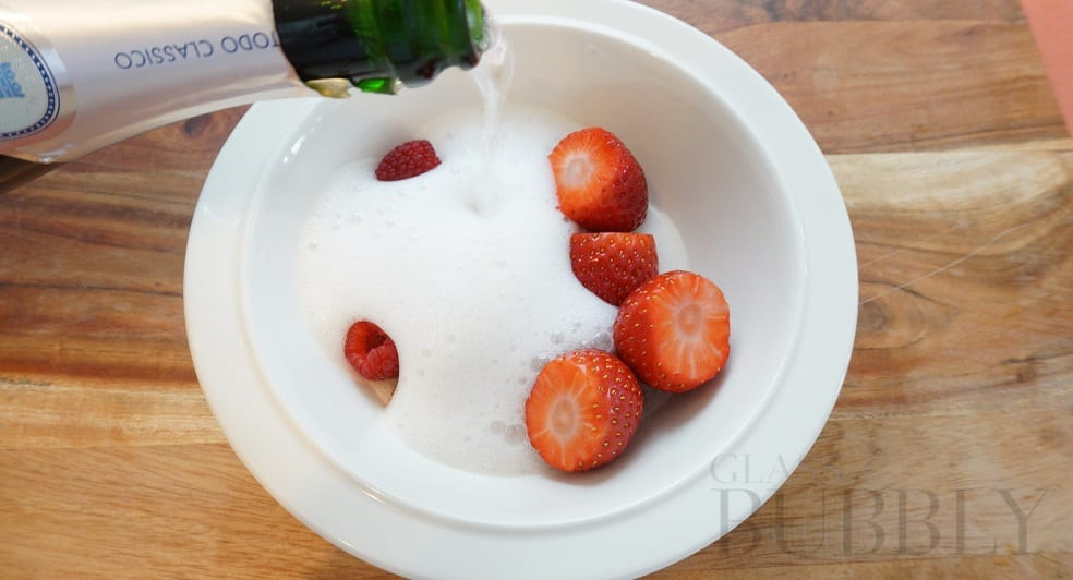 Bowl of Fizzy Fruit