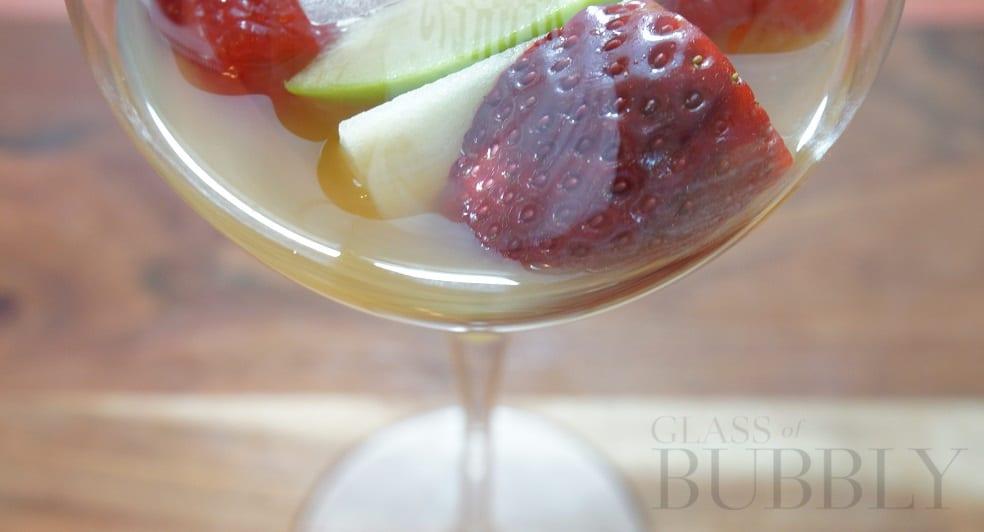 Fruit Wine Glass