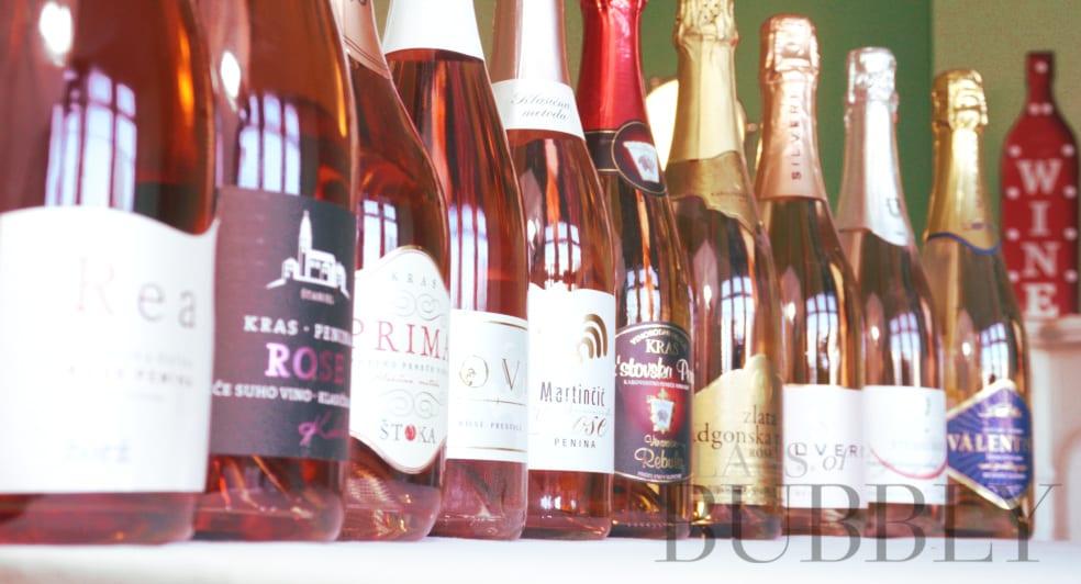 Rose Slovenian sparkling wines