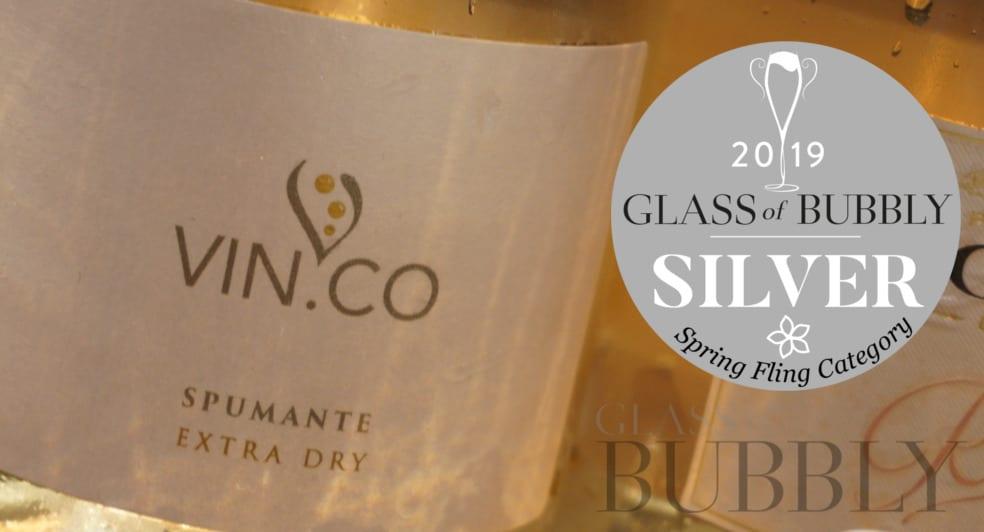 Vin co Spumante Extra Dry Rosé